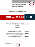 Manual de Calidad(Original)