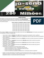 Mega Sena com Estatística