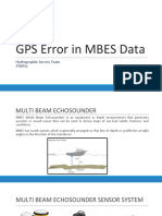 GPS Error and MBES Data (1)