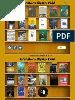 Libros 1985