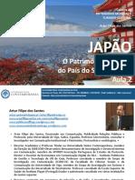 Património Cultural do Japão - Aula 2