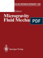 Microgravity Fluid Mechanics 1992