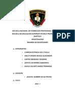Escuela Nacional de Formacion Profesional Policial Pnp