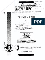 Gemini Program Mission Report Gemini Xii