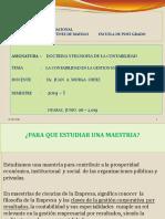 DOCTRINA Y FILOSOFÍA