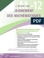 Mettre l'accent sur l'enseignement des Maths_de la maternelle à la 12e année_Antario.pdf
