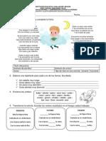 Evaluación 3er Periodo Español