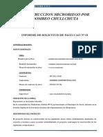 Informe Tecnico y Nota de Pago
