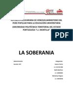 Republica Bolivariana de Venezuelaministerio Del Pode Popular Para La Educación Universitaria