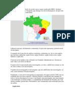 A Divisão Territorial Do Brasil
