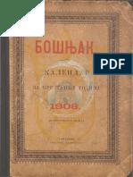 Kalendar Bosnjak 1908