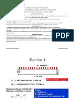 Ejemplo de Predimensionado de Viga de Acero Alumna Aurenny López