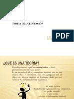 Teoria y Teoria de La Educación_basico