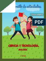 Ciencia y Tecnología. Biología - Respuestas