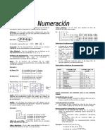 NUMERACION -  Teoría y Práctica