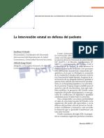 33. Galende y Kraut. La Intervención Estatal en Defensa Del Paciente