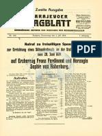 Sarajevoer Tagblatt