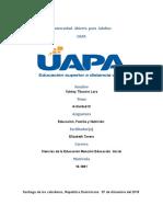 ACTIVIDAD III de Educación, Familia y Nutrición.