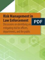 Risk Management in Law Enforcement