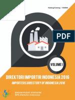 Direktori Importir Indonesia 2016 Jilid I