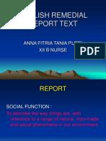 Report Text Anna Xii b Nurse