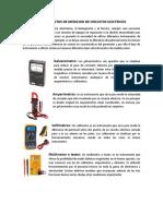 Instrumentos de Medicion de Circuitos Electricos