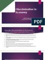 Gender Discrimination (1)