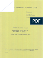 Planificacion Municipal CEPAL
