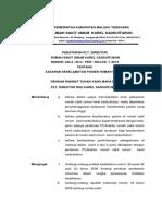 Standar Skp 1 Ep 1.1 Peraturan Sasaran Keselamatan Pasien