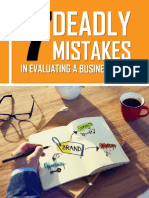 The 7 Deadly Mistakes eBook
