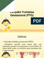 Penyakit Trofoblas Gestasional (PTG)
