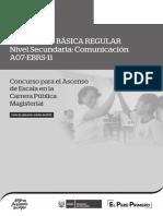 Examen de Ascenso a07-Ebrs-11_ebr Secundaria Comunicacion_forma 1