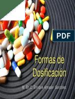 Formas de Dosificación