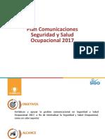 PLAN DE COMUNICACIONES SSO CODELCO