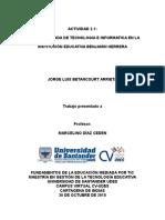 Jorge Betancourt Actividad2.1 Clase