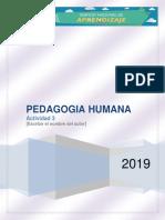 Act-3 Pedagogia Humana