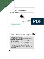 Concevoir Un Systeme d Information Etudiants