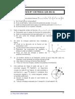 problemas de trabajo potencia y energía - Física I