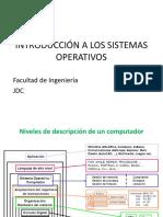 Sistemas operattivos vs arquitectura
