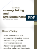 Eye Examination -Movement
