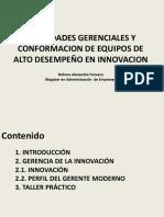 Gerencia de La Innovacion