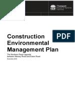 #Tnr Stage 4 Construction Environmental Management Plan