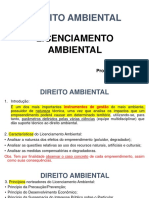 07 Direito Ambiental - Licenciamento Ambiental