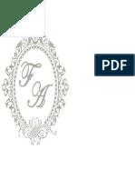 Monograma Fran1 Usarei Este