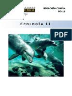 BC16-15 Ecologia II