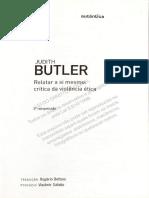 Relatar a Si Mesmo - Judith Butler