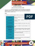 Trabajo Evidencia_11 Cotizaciones de Servicios Asociados