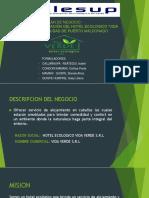 Proyecto de Negocio Hotel Ecologico