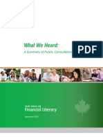 Financial Literacy Canada