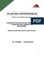 Plan de Contingencia 2019